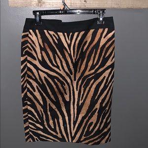 🖤NWT animal print skirt size 4